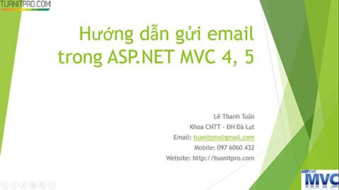 ASP.NET MVC 4 SendMail