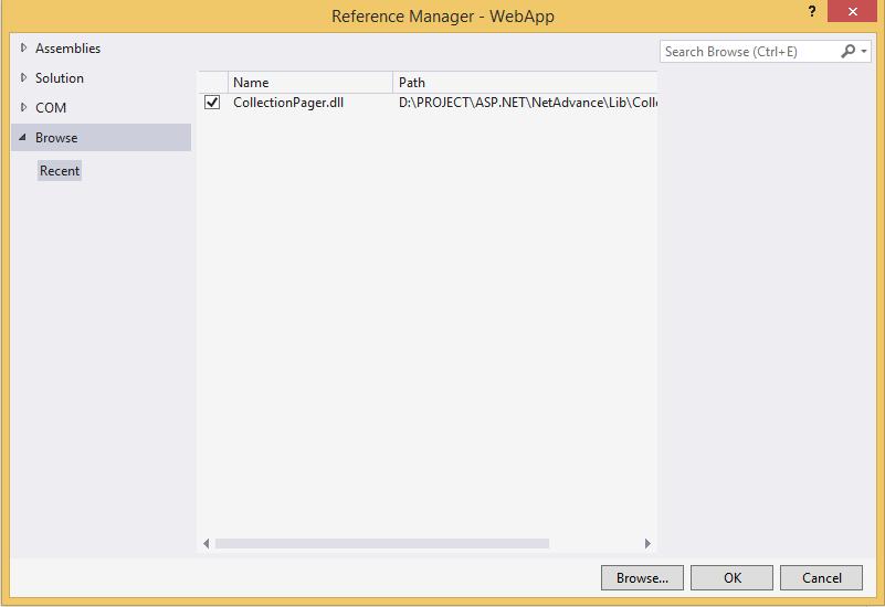 Phân trang trong ASP.NET với CollectionPager